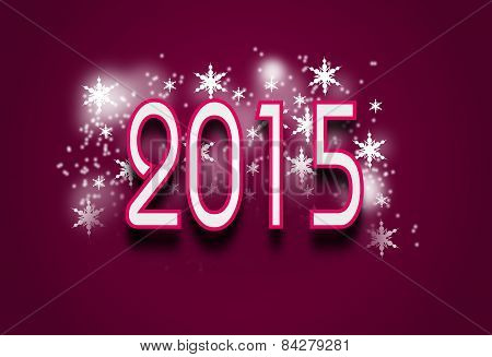 2015 Pink Background