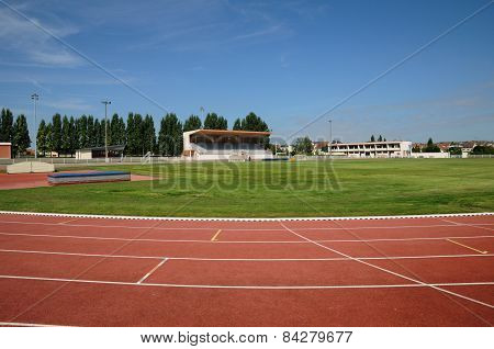 France, The Stadium Of Les Mureaux