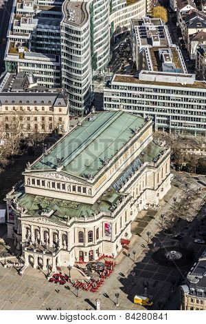 Aerial View: The Alte Oper