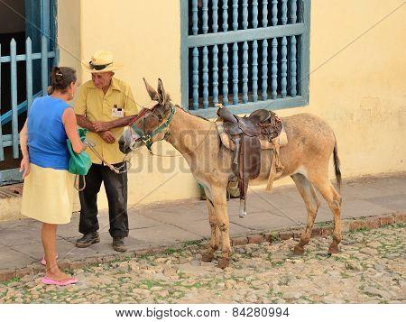 TRINIDAD, CUBA -MAY 3, 2014.