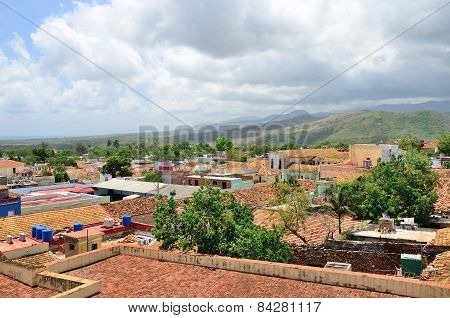 View Of The Town Roofs. Trinidad, Cuba.