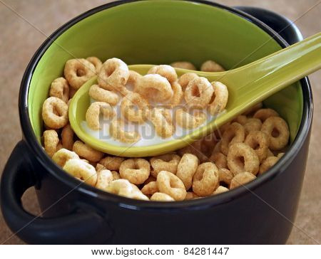 Breakfast Cereal With Milk