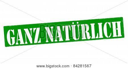 Quite Natural