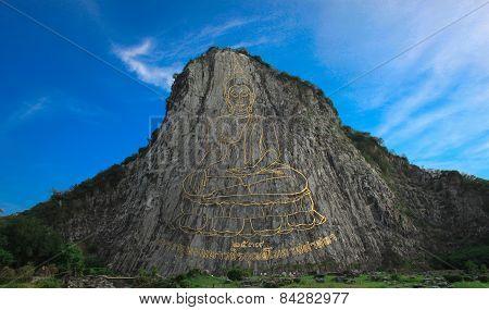 Buddha Mountain. Khao Chi Chan