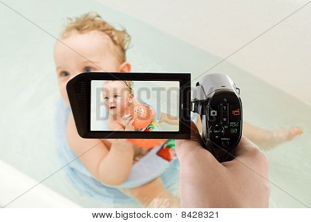 Bathing Camcorder