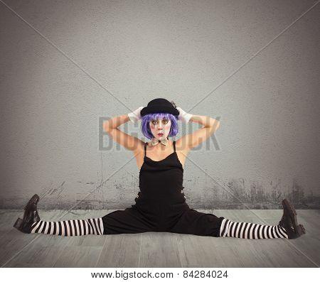 Clown in split