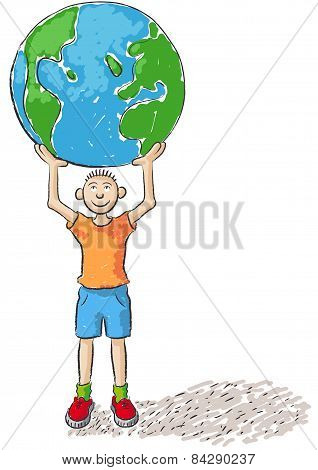 Child Rules The World