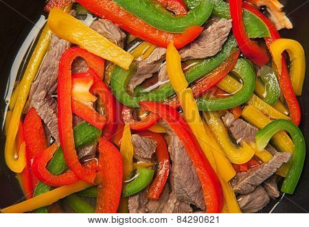 Beef And Bell Peppers