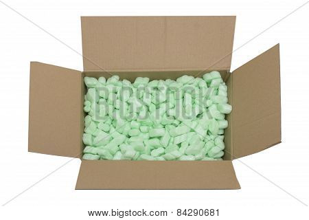 Parcel Full Of Packing Fillers