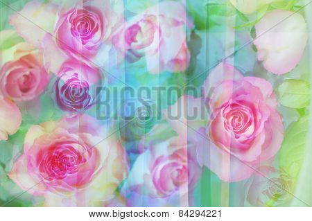 Pretty Abstract Floral Background