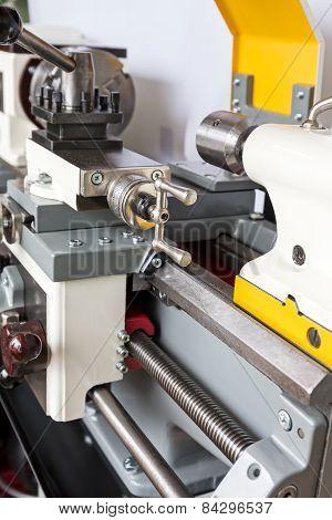 Closeup Machining Tool