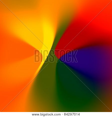 Soft colored abstract background. Digital fantasy art. Beautiful blurred effect. Colorful red image.