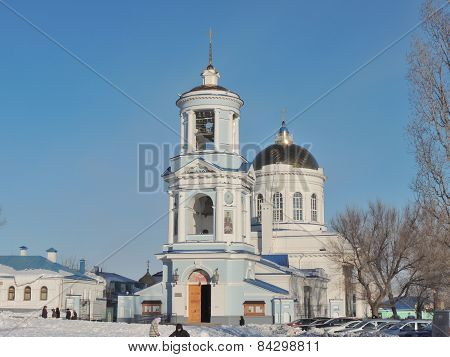 Pokrovsky Cathedral And Bell Tower