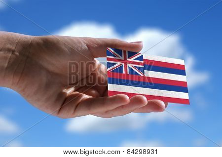 Small Hawaiian Flag