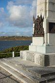 picture of falklands  - Memorial in Stanley - JPG