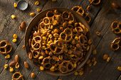 picture of mixed nut  - Seasoned Pub Snack Mix with Nuts and Pretzels - JPG