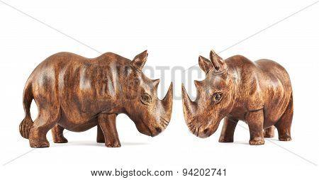 Rhinoceros rhino sculpture