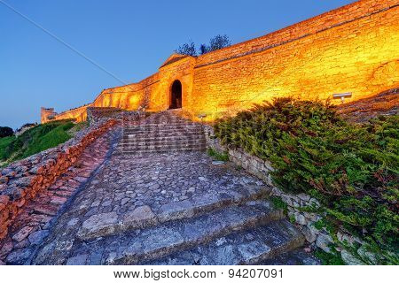 Old Gate And Stairs At Belgrade Fortress
