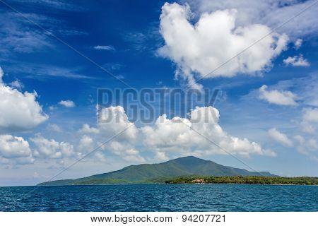 Karimunjawa archipelago island in Indonesia