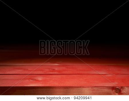Wooden boards background composition