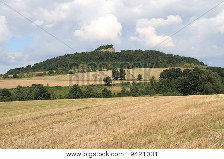 Wolf Mountain Near Z?otoryja (goldberg) Lower Silesia