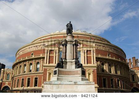 Royal Albert Hall and Prince Albert Statue, Kensington