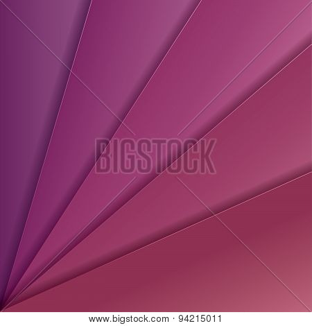 Abstract Vector Background With Purple And Pink Paper Layers