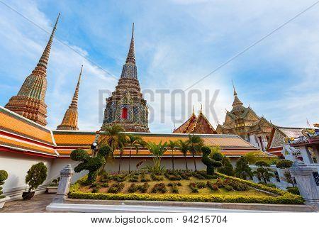 Wat Pho (Pho Temple) in Bangkok, Thailand