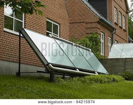 Solar Panel For Green, Environmentally Friendly Energy