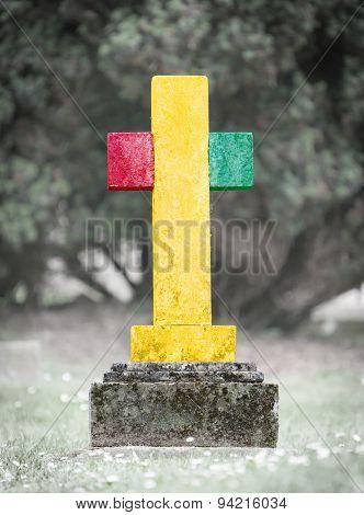 Gravestone In The Cemetery - Guinea