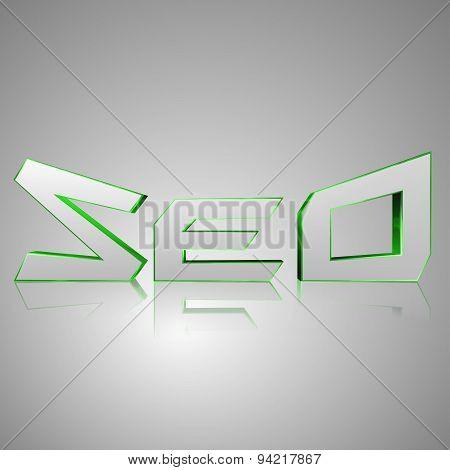 3D Text Seo