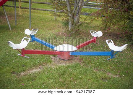 Old seesaw