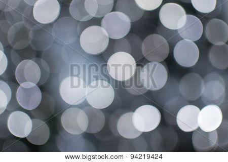 White Blurred Celebration Fairy Lights