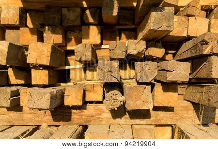 Square Lumber Timber For Construction
