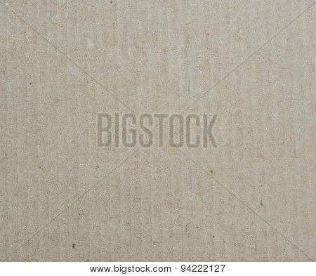 Corrugated Cardboard Paper Texture Background