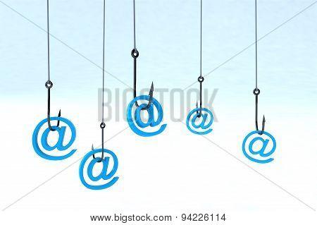 Technology Phishing Concept