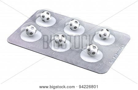 Soccerball Pills In Blister