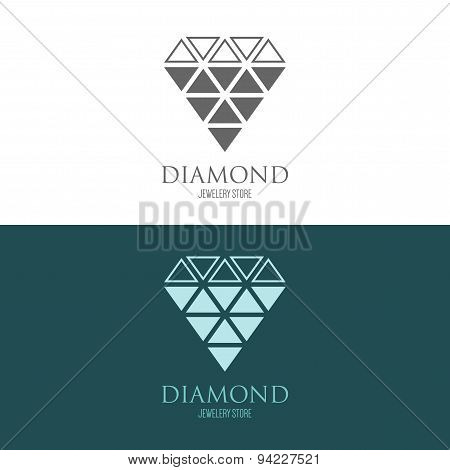 Logo Inspiration With Jewels And Diamonds