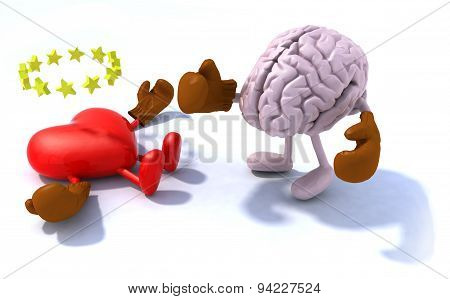 Brain Fighting Heart