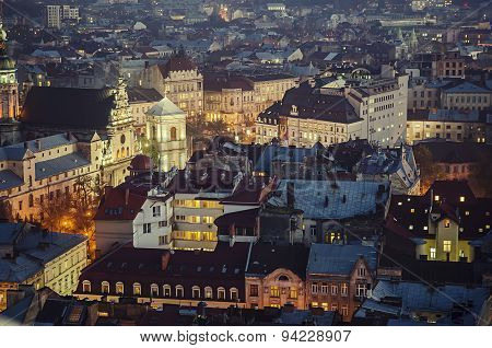 Night Lviv