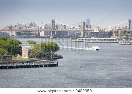 An image of the buildings of new york