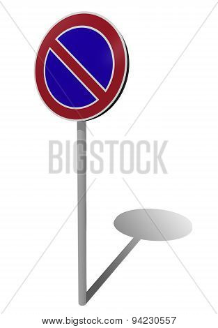 No Parking Traffic Sign