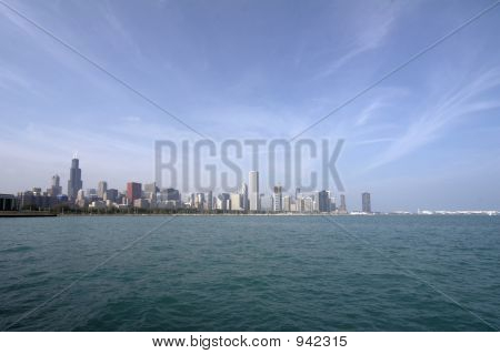 Skyline Of Chicago Soc06