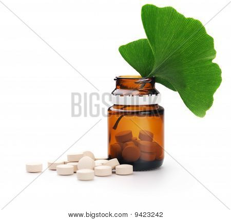Herbal Medicine. Ginkgo Biloba