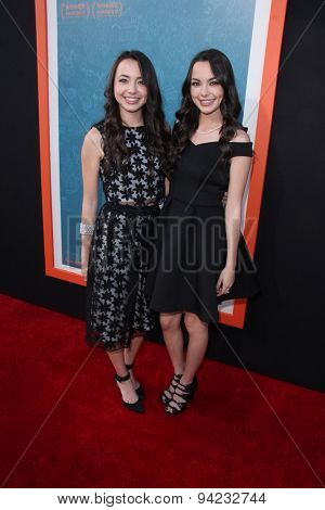 LOS ANGELES - JUN 3:  Veronica Merrell, Vanessa Merrell at the