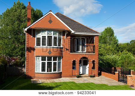 English Redbrick House
