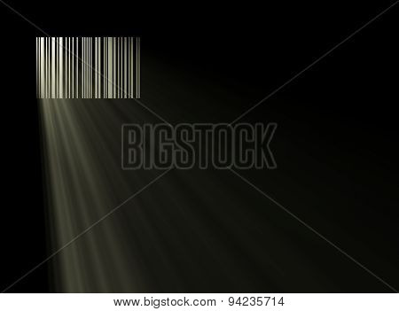 Barcode Like A Window Of Prison
