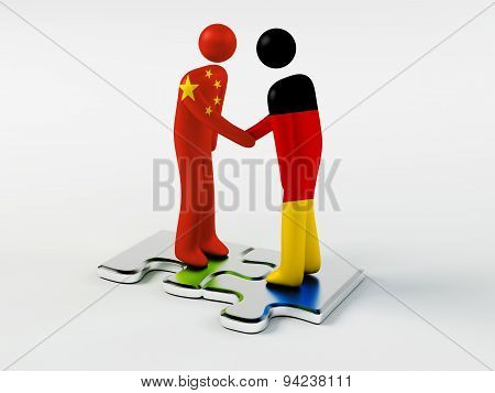 Business Partners China and Germany