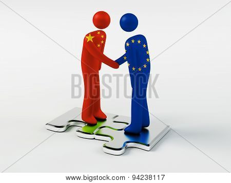 Business Partners China and European Union