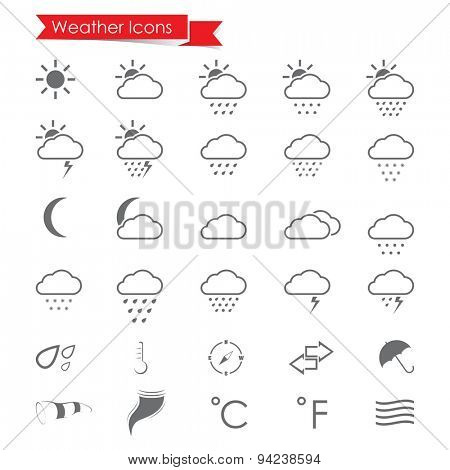 Weather Icons set